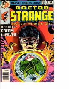 Lot Of 2 Marvel Comic Book Doctor Strange #32 and Sleepwalker #8 AH12
