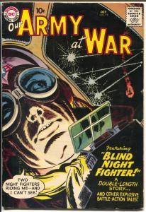 Our Army At War #75 1958-Joe Kubert-air war-30th Infantry-VG/FN