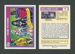 1990 Marvel Comics Card  #147 (Hellfire Club) / MINT