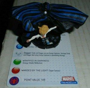 Cloak and Dagger 039 Marvel Heroclix Secret Invasion