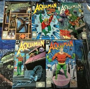 AQUAMAN (1989 MINI) 1-5 Geffin does the King of the Sea