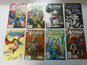 Superman Action Comics Lot From:#853-904, 41 Different Average 8.5/VF+ (2007-11)