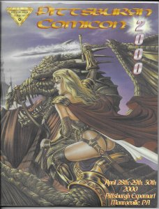 Pittsburgh Comicon 2000 program VG Lady Pendragon cover