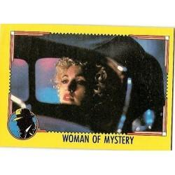 1990 Topps DICK TRACY-WOMAN OF MYSTERY #38