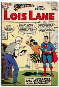 Superman's Girl Friend Lois Lane 42 Jul 1963 VG- (3.5)