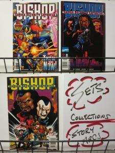 BISHOP XSE (1998) 1-3  complete X-MEN mini-series!