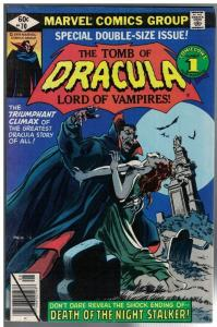 TOMB OF DRACULA 70 VG-F GIANT SIZE LAST ISSUE