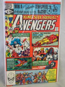 The Avengers King Size Annual 10 .N/VF condition. 1st Rogue ! 1981