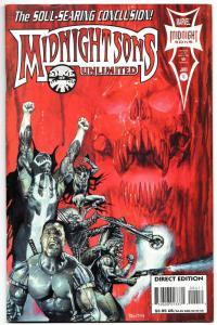Midnight Sons Unlimited #4 Blade / Ghost Rider / Morbius (Marvel, 1994) VF-