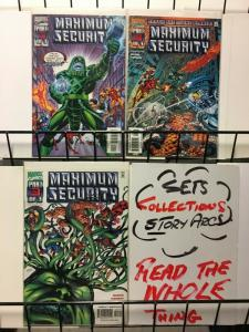 MAXIMUM SECURITY (2000) 1-3  complete series!