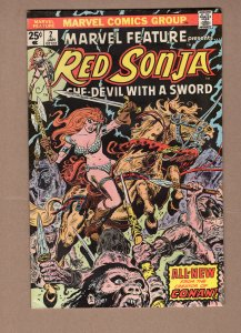 Marvel Feature Red Sonja #2 FN