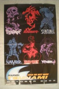 TSUNAMI Promo Poster, 24x36, 2003, Venom, Unused, more Promos in store