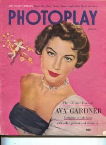 Photoplay-Ava Gardner-Gene Kelley-Doris Day-Feb-1952