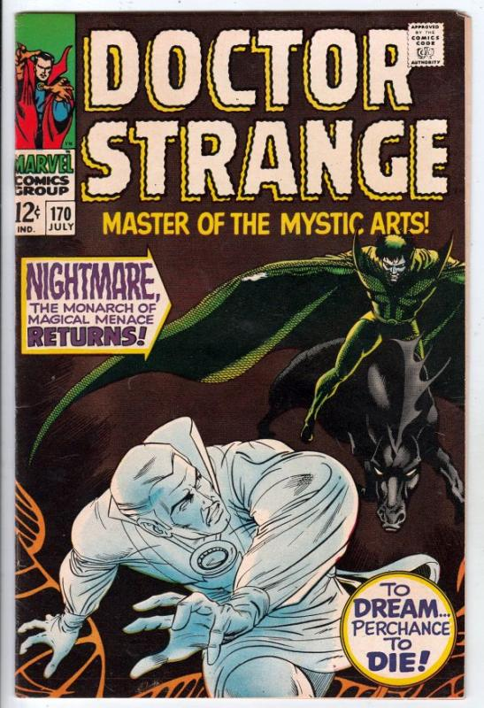 Doctor Strange #170 (Jul-68) VF/NM High-Grade Dr. Strange