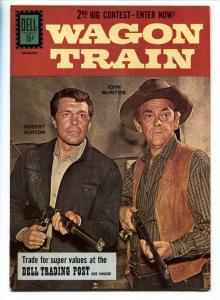 Wagon Train #11 1961- Dell TV Western- Robert Horton VF/NM
