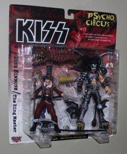 Kiss Psycho Circus Figures (SET of 4) McFarlane Toys 1998