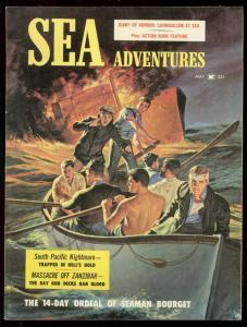 SEA ADVENTURES MAY 1959-CANNIBALISM-MASSACRE ZANZIBAR FN/VF