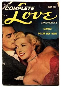 COMPLETE LOVE MAGAZINE #178 1954-ACE COMICS GOOD GIRL ART Romance