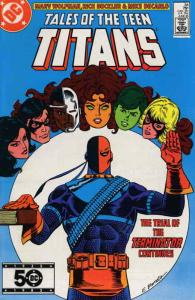 Tales of the Teen Titans #54 VF/NM; DC | save on shipping - details inside