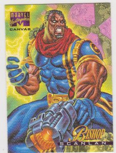 1995 Marvel Masterpieces Canvas #3 Bishop