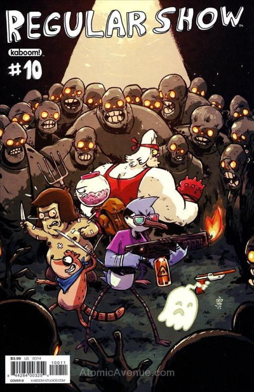 Regular Show #10A VF; Boom! | save on shipping - details inside