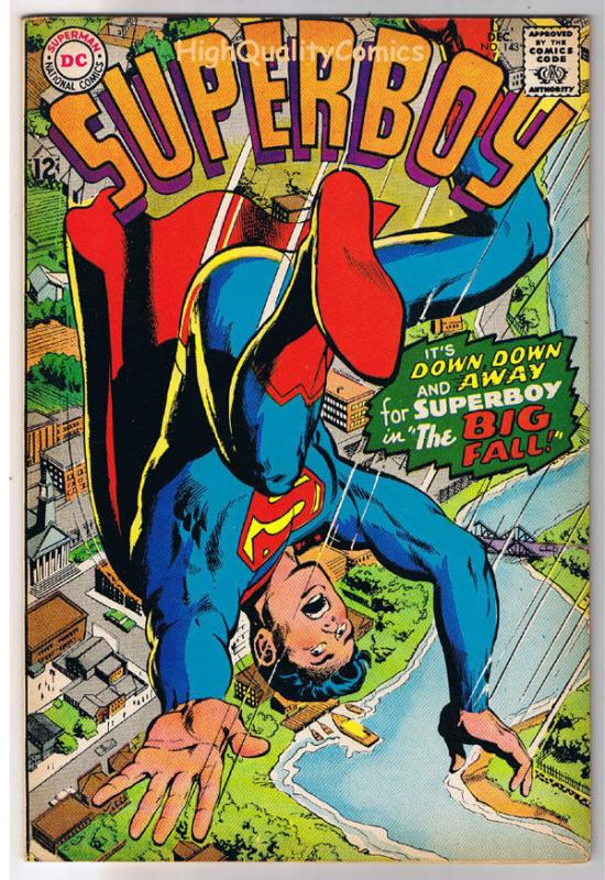 SUPERBOY 143, VF/NM, Civil War, Neal Adams, Smallville, 1949 , more DC in store