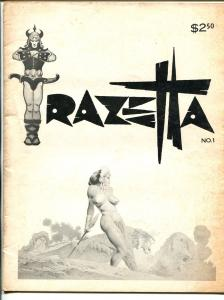 Frazetta #1 1969-1st issue-Thunda comic strip-full page illustrations-pix-VG+