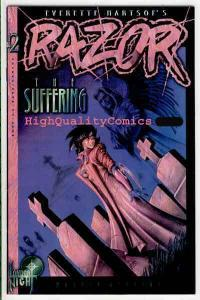 RAZOR The Suffering #2, NM+, Joseph Linsner, Femme, 1995, more indies in store