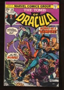 Tomb of Dracula (1972 series) #30, VF- (Actual scan)