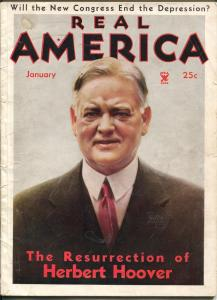 Real America 1/1935-Herbert Hoover-Anna May Wong-Gertrude Ball-VG