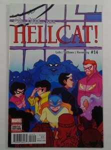 Patsy Walker Hellcat #14 VF/NM Front/Back Cover Scans Marvel 2017