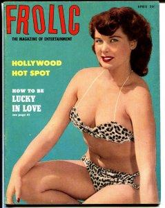 Frolic 4/1953-Flamenco-Burlesque queens-spicy-cheesecake-high grade
