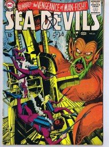 Sea Devils #24 ORIGINAL Vintage 1965 DC Comics