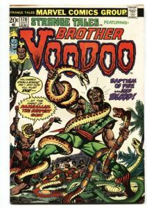 STRANGE TALES #170 BROTHER VOODOO-ROMITA COVER comic book