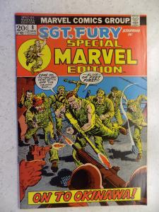 MARVEL SPECIAL EDITION # 8 SGT. FURY WAR ACTION ADVENTURE