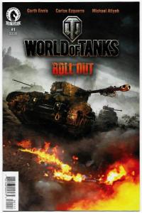 World of Tanks Roll Out #1 / 1st Printing (Dark Horse, 2016) NM