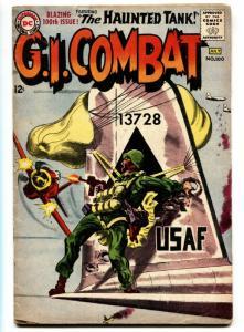G.I. COMBAT #100 comic book 1963-DC-KEY ISSUE- HAUNTED TANK STORY