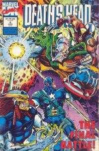 Death's Head II (March 1992 series) #4, NM- (Stock photo)