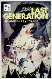 LAST GENERATION #2, NM+, Black Tie, 19'87, Totems, Indian, more indies in st