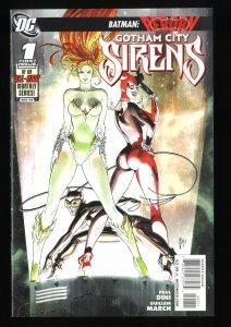 Gotham City Sirens #1 NM+ 9.6 Harley Quinn!