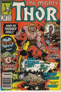 Thor(vol. 1)# 388  Alone Against The Celestials !