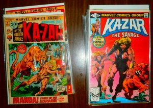 Ka-Zar V1 V2 V3 The Savage + (set of 24)