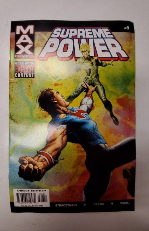 Supreme Power #8 (2004) NM Max Comic Book J667
