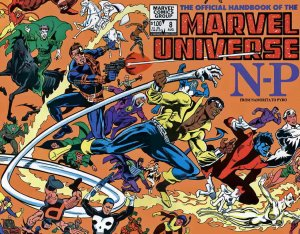 Official Handbook of the Marvel Universe (Vol. 1) #8 FN; Marvel   save on shippi