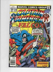 CAPTAIN AMERICA #220, NM, vs Ameridroid, 1968 1978, more CA in store