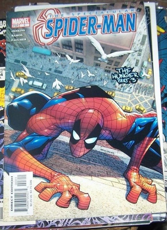 Spectacular Spider-Man #3 (Oct 2003, Marvel) THE HUNGER PT 3 VENOM EDDIE BROCK