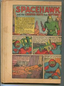 Target #5 Comics 1940- 1st SPACEHAWK-Basil Wolverton- White Streak-pr/fr