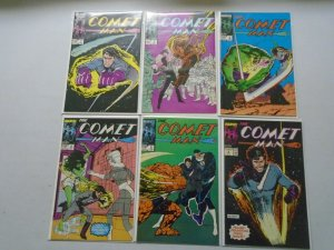 Comet Man set #1-6 8.0 VF (1987)