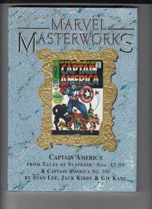 Marvel Masterworks MMW 46 Captain America Limited Variant NEW in Shrink Wrap