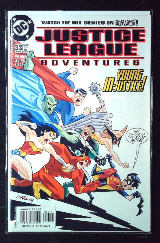 Justice League Adventures #33 (2004)